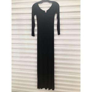 American Twist Long Sleeve Tee Dress